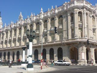 Le Grand Théâtre de La Havane Alicia Alonso a été inauguré le 15 avril 1838 sous le nom de Théâtre de Tacón (Photo: Amelia Duarte de la Rosa)
