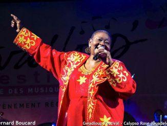 Gwadloup Festival - Calypso Rose (Foto : Bernard Boucard)