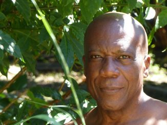 Guadeloupean photographer Christian Géber