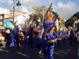 Chaque année, près de 150 000 spectateurs assistent à la Parade du Mardi Gras dans les rues de Basse-Terre, la capitale de la Guadeloupe. (Photo: A. Chaville)