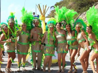 On February 13, Mardi Gras will be very hot in Gustavia !
