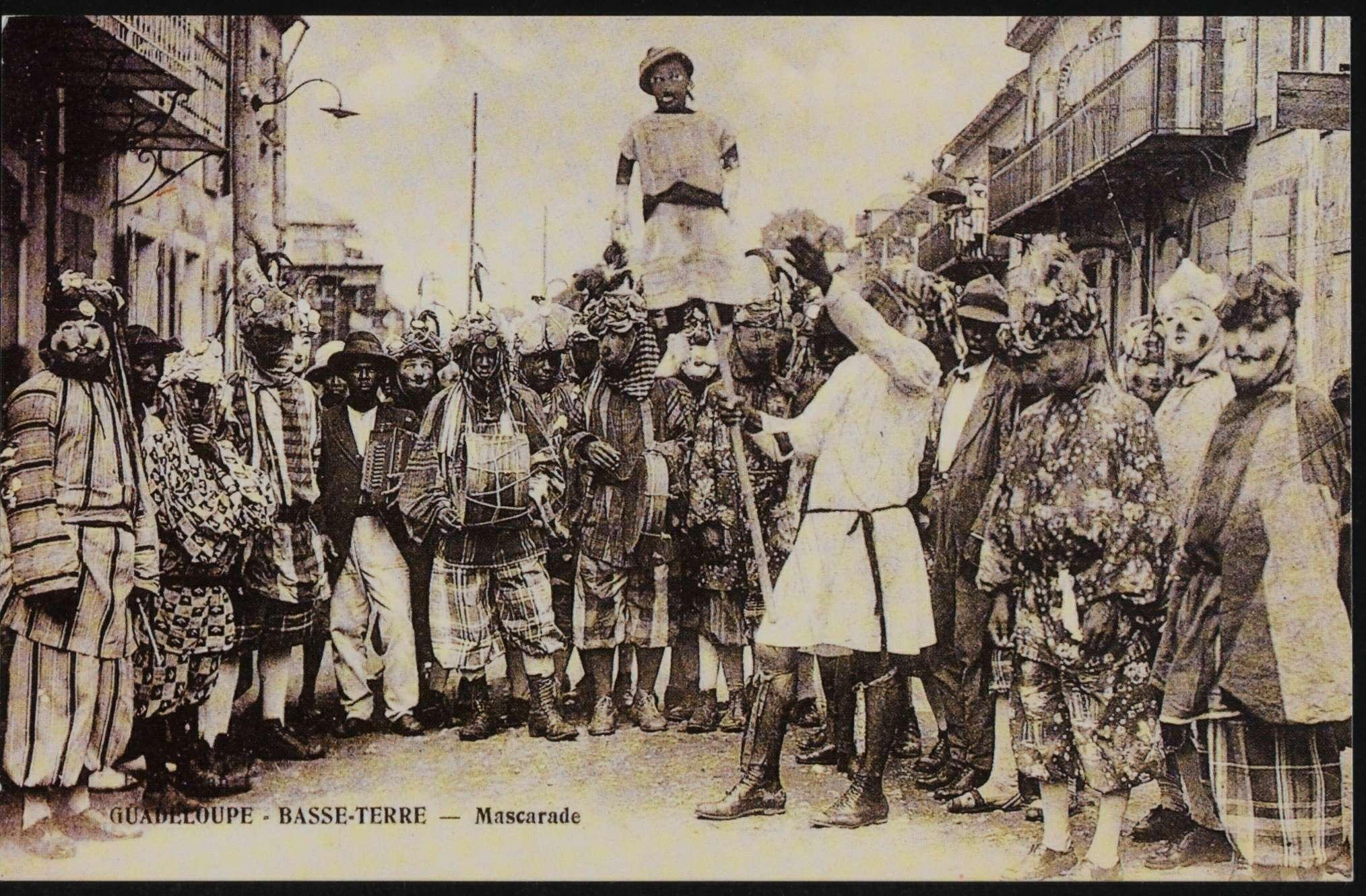 0 - Les Masques de Vieux-Fort à Basse-Terre - Début 20e siècle