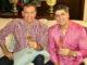 Le merenguero Eddy Herrera et son frère, Evelio, qui fut son manager.
