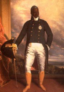 Roi Henri Christophe Haïti Peintre Richard Evans 1784-1871
