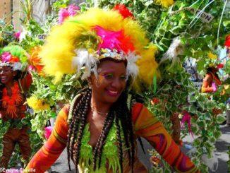 Carnaval de Guadeloupe 2018, groupe KASIKA - Photo: Évelyne Chaville