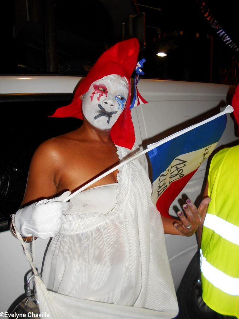 Carnaval Guadeloupe Gilets Jaunes 35A