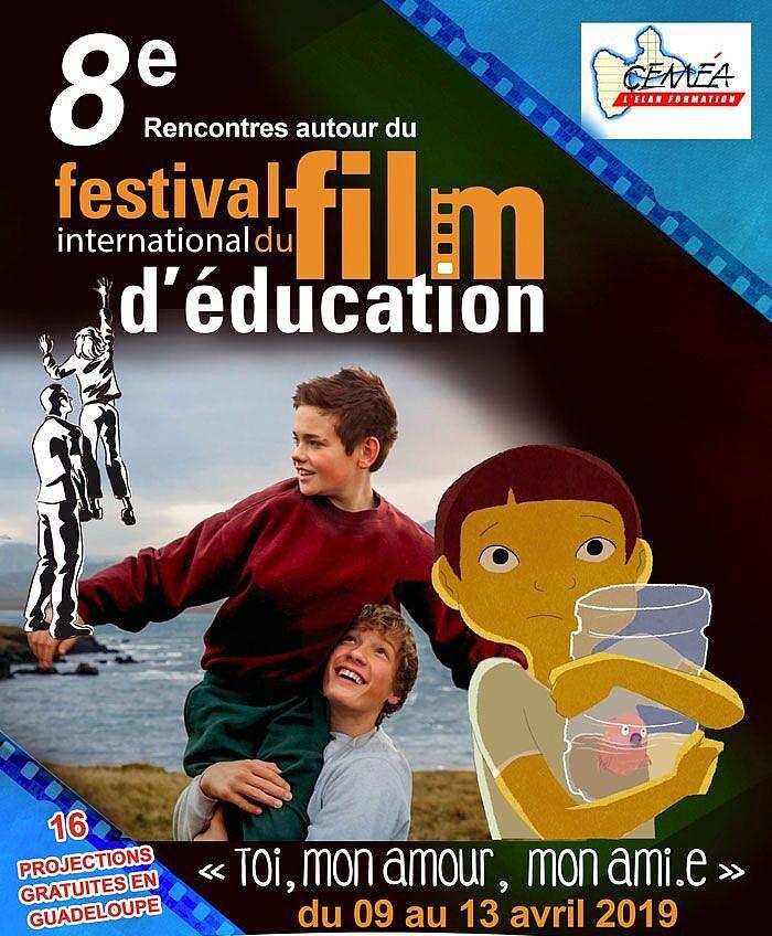 0 - Affiche- Rencontres autour du Festival International du Film d'Éducation C