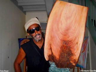 The artist Tony Boyer. Photo: Évelyne Chaville