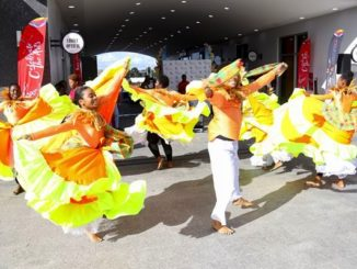 Launch of the Caribbean Festival of Arts, CARIFESTA XIV, in Port of Spain, Trinidad & Tobago, in October 2018. Photo: Carifesta Trinidad & Tobago XIV