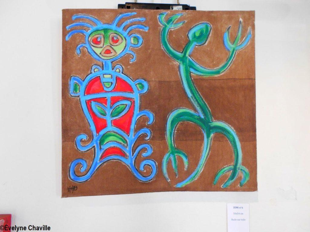 Exposition Fantômes Caraïbes - Hugues Henri 34C