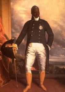 Roi Henri Christophe Haïti, Peintre Richard Evans 1784-1871