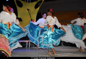 Danse locale - Aruba