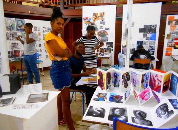 La clase preparatoria Arte y Diseño del CMA ya ha admitido a más de 430 estudiantes de Guadalupe, San Martín y Martinica, muchos han sido aceptados en escuelas de arte, especialmente en Francia, en otros países europeos o en Canadá y ahora están trabajando en diversos campos del arte, del diseño y de la cultura.