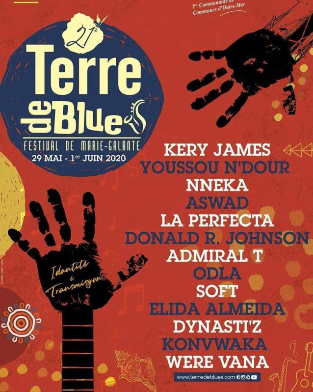 Flyer Festival Terre de Blues 2020