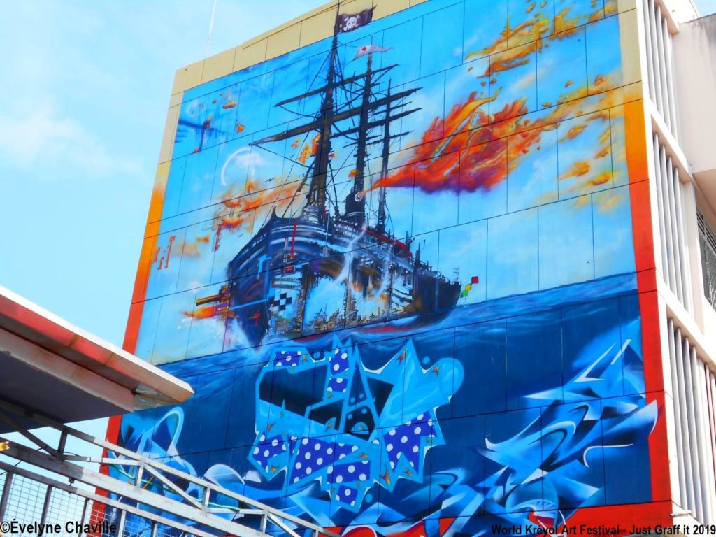 World Kréyol Art Festival - Just Graff it 2019 -23