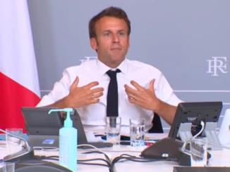 Emmanuel Macron, le Président de la République - Photo: Capture d'écran vidéo Élysée