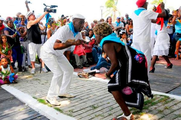 "Ulises Mora and Irma Castillo the organizers of the International Timbalaye Festival ""La Ruta de la Rumba"""