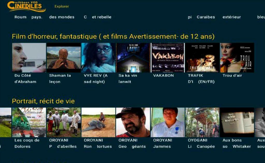 Cinédiles Caribbean VOD 2