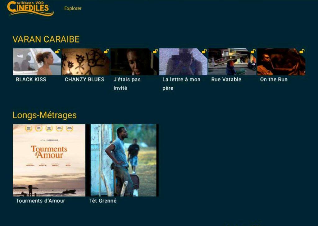 Cinédiles Caribbean VOD 3