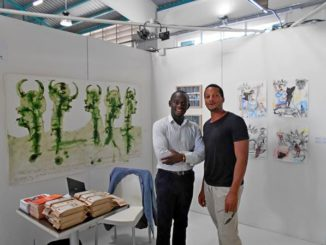 Stand of the Bandjoun Station, Cameroon (Pool Art Fair Guadeloupe 2017)