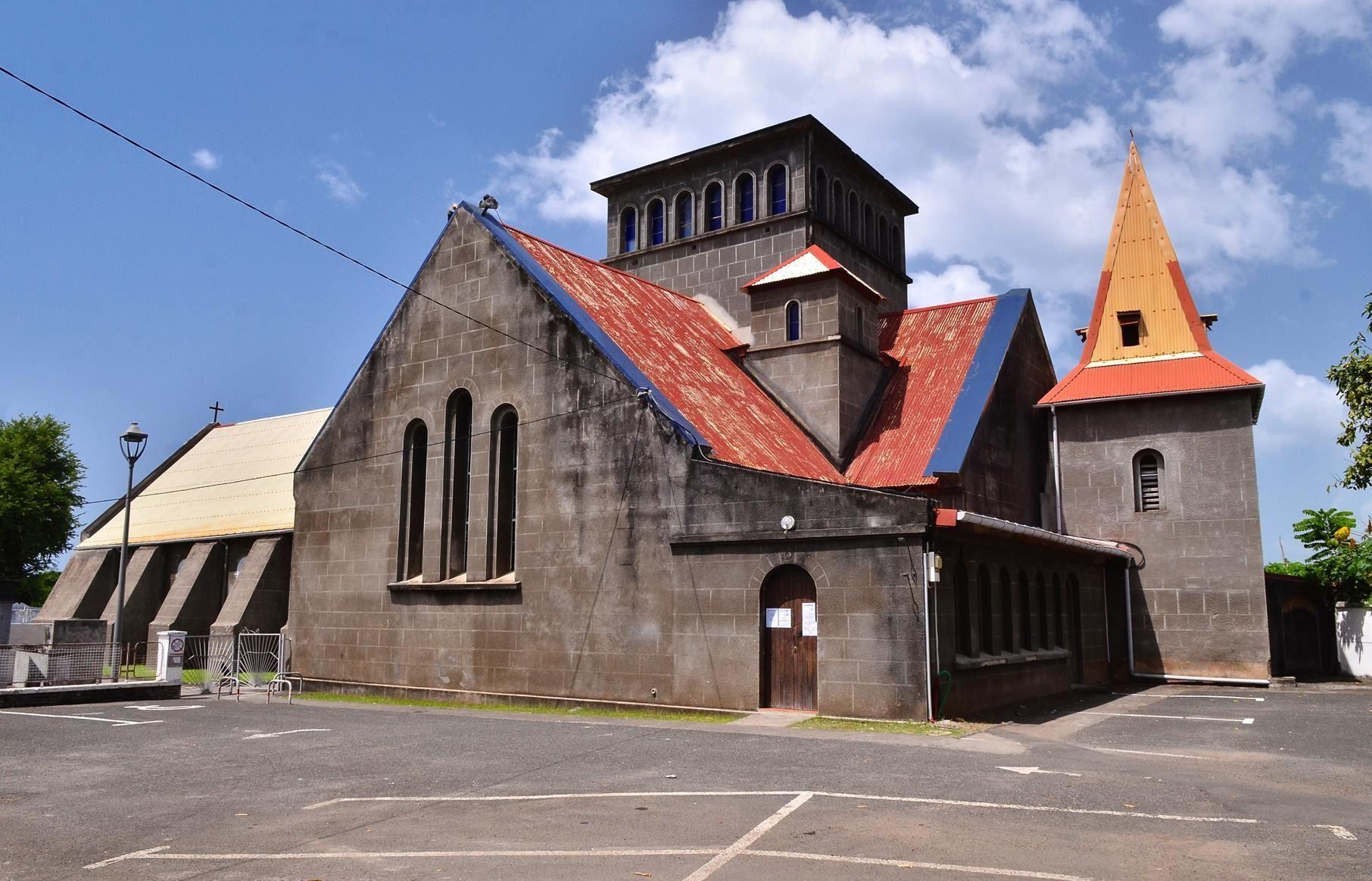 2 Église de Vieux-Habitants Guadeloupe