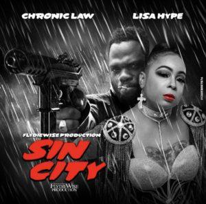Chronic Law x Lisa Hype - Sin City - Artwork