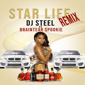 DJ Steel ft Braintear Spookie - Star Life Remix - Artwork