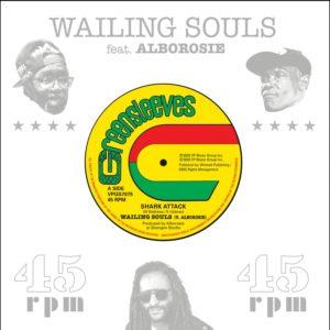 Wailing Souls ft. Alborosie - Shark Attack - Artwork