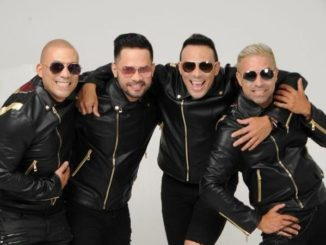 The band Grupo Mania celebrates 27 year career