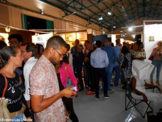 If the 2019 Pool Art Fair at the Pointe-à-Pitre cruise terminal received 7,000 visitors for nearly 100 artists, the 2020 Pool Art Fair online and in 3D counted about 6,000 unique visitors for 41 artists - Photo: Évelyne Chaville