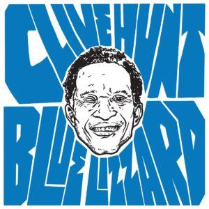 Clive Hunt - Blue Lizzard - Artwork