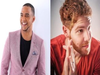 L'humoriste et acteur dominicain Liondy Ozoria et l'acteur argentin Diego Vicos