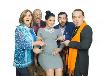 Gianni Paulino (Élisabeth), Richard Douglas (Pierre), Élizabeth Chahin (Anna), José Roberto Díaz García (Vincent) and Pepe Sierra (Claude)