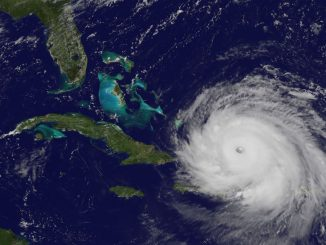 L'ouragan Irma (Photo : National Hurricane Center)