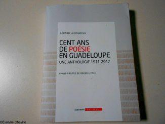 Livre 100 ans de Poésie en Guadeloupe