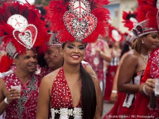 Carnival of the island of Aruba (Photo: Ricaldo Blijden)