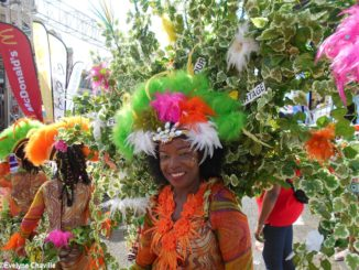 "The carnival group ""Kasika"" (Photo: Évelyne Chaville)"