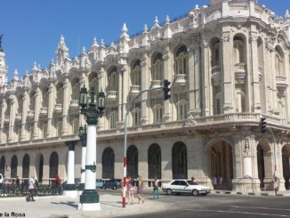 On March 27 : World Theatre Day - The Alicia Alonso Grand Theater of Havana (Photo: Amelia Duarte de la Rosa)