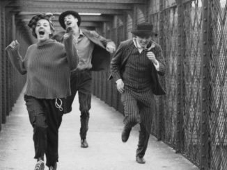 "The movie ""Jules et Jim"" by François Truffaut with Jeanne Moreau, Henri Serre and Oskar Werner came out in January, 1962."