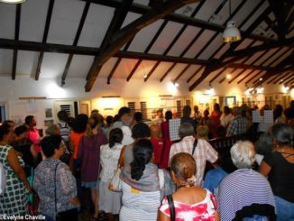 "Opening of the exhibition ""La Pointe, hier et aujourd'hui"" - Photo: Évelyne Chaville"