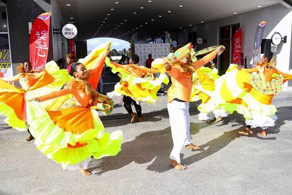 Lancement du Festival des Arts de la Caraïbe, CARIFESTA XIV, à Port of Spain, Trinidad & Tobago, en octobre 2018. Photo: Carifesta Trinidad & Tobago XIV