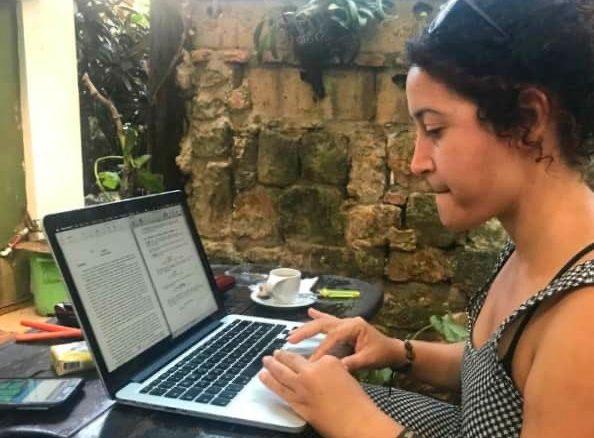 """Laura Conyedo: """"le Fonds est un stimulant pour les projets des jeunes réalisateurs, car il existe indépendamment des productions annuelles de l'Icaic"""""""