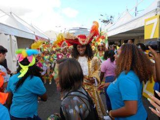 """""""Village Expérience Carnaval"""", 9 février 2019, Pointe-à-Pitre Guadeloupe - Photo: Évelyne Chaville"""
