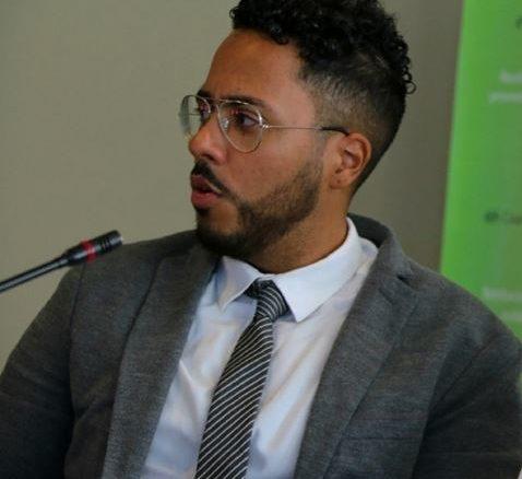 Larry Lamartinière, le directeur de l'Alliance Française en Jamaïque