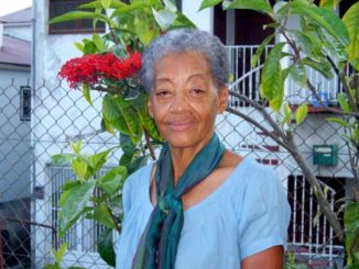 The writer Rita Dahomay