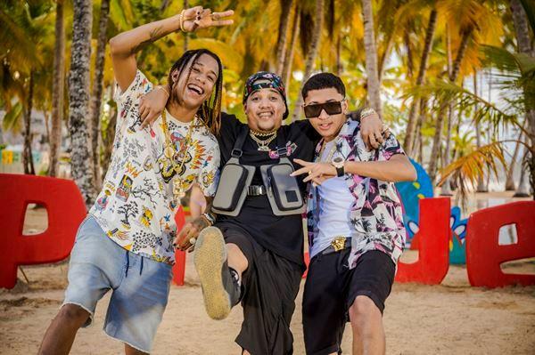 Suazo Baby avec Bulova et  Nino Freestyle
