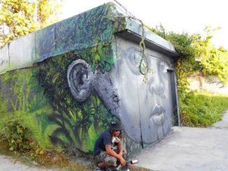 Artist Xän from Martinique