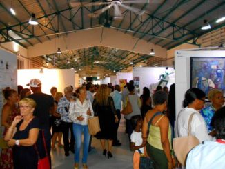 As in 2020, the Pool Art Fair Guadeloupe will not be physical but virtual / Edition 2019 - Photo: Évelyne Chaville
