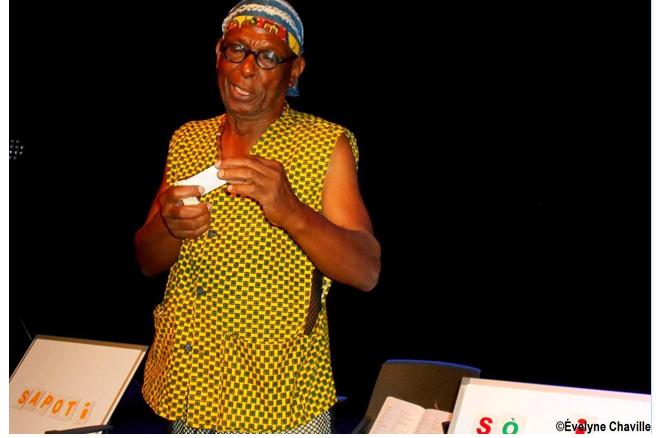 Lukuber Séjor: Musical artist, defender of the Creole language - Photo: Évelyne Chaville
